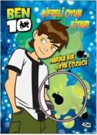 Ben 10 Şifreli Oyun Kitabı