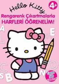 Hello Kitty Rengarenk Çıkartmalarla Harfleri Öğrenelim
