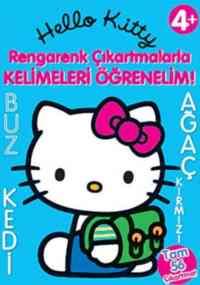Hello Kitty Rengarenk Çıkartmalar Kelimeleri Öğrenelim