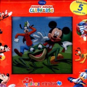 Mickey Mouse İlk Yapboz Kitabım