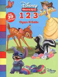 Disney 1.2.3 Oyun Kitabı