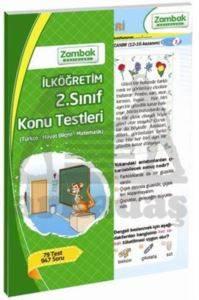 Zambak 2.Sınıf Konu Testleri (79 Test)