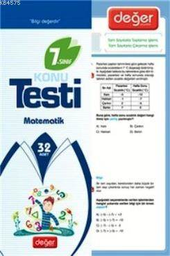 7. Sınıf Matematik Konu Testi