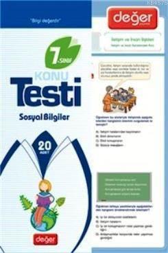 7. Sınıf Sosyal Bilgiler Konu Testi