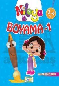 Niloya ile Boyama - 1 Yapabildiklerim