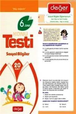 6. Sınıf Sosyal Bilgiler Konu Testi