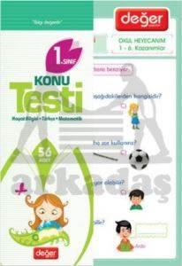 Değer - 1.Sınıf Konu Testi (56 Adet)