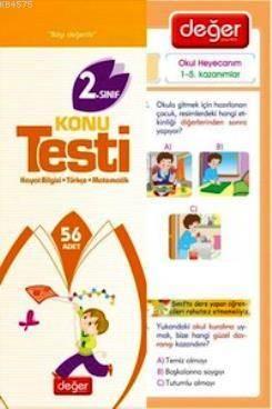 2. Sınıf Konu Testi; Tüm Dersler