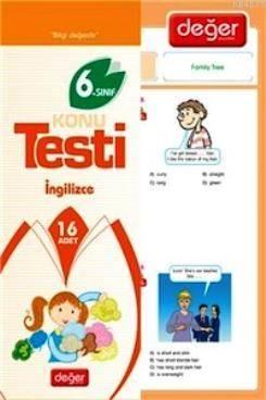 6. Sınıf İngilizce Konu Testi
