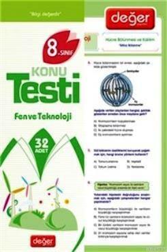 8. Sınıf Fen Ve Teknoloji Konu Testi