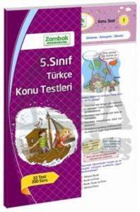 Zambak 5.Sınıf Türkçe Konu Testleri (32 Test)