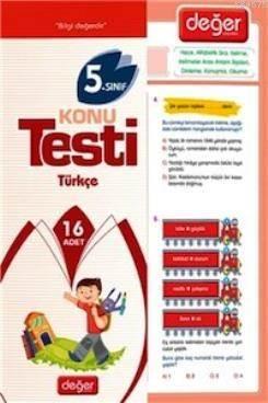 5. Sınıf Türkçe Konu Testi