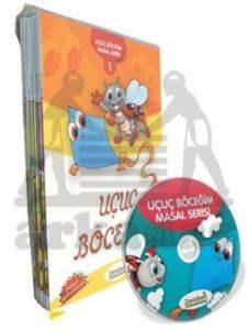 Zambak Uçuç Böceğim Masal Serisi - 12 Kitap Takım + DVD