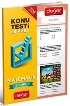 5. Sınıf Matematik Konu Testi
