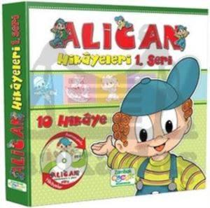 Alican Hikayeleri 1.Seri (10 Kitap)+Dvd