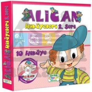 Alican Hikayeleri 2.Seri (10 Kitap)+Dvd