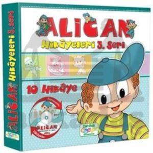 Alican Hikayeleri 3.Seri (10 Kitap)+Dvd