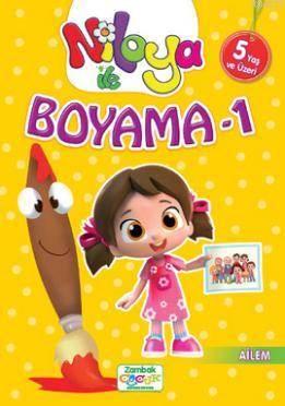 Niloya İle Boyama-1 (Ailem) 5+ Yaş