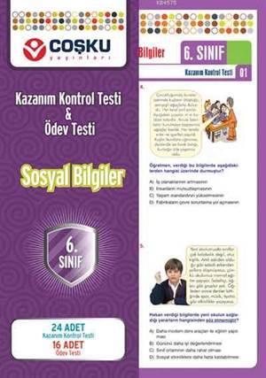Coşku 6.Sınıf K.K.Testi & Ödev Testi Sosyal Bilgiler_Yeni_2012