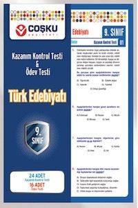 Coşku 9.Sınıf K.K.Testi & Ödev Testi Türk Edebiyatı_Yeni_2012