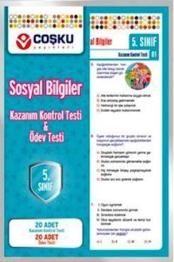 Coşku 5.Sınıf K.K.Testi & Ödev Testi Sosyal Bilgiler