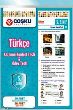 Coşku 5.Sınıf K.K.Testi & Ödev Testi Türkçe