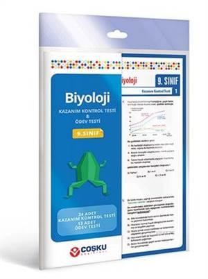 Coşku 9.Sınıf K.K.Testi & Ödev Testi  Biyoloji _2013