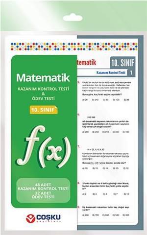 Coşku 10.Sınıf K.K.Testi & Ödev Testi Matematik 2014