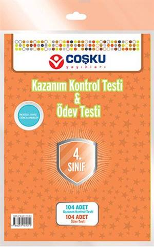 Coşku 4.Sınıf K.K.Testi & Ödev Testi 2014