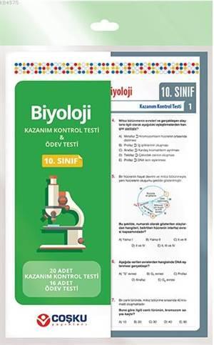 Coşku 10.Sınıf K.K.Testi & Ödev Testi Biyoloji 2014