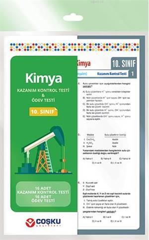 Coşku 10.Sınıf K.K.Testi & Ödev Testi Kimya 2014
