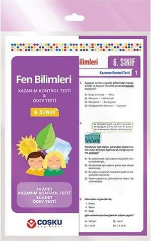 Coşku 6.Sınıf K.K.Testi & Ödev Testi Fen Bilimleri 2014