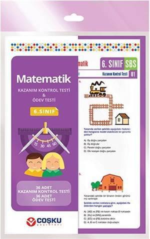 Coşku 6.Sınıf K.K.Testi & Ödev Testi Matematik 2014