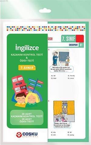 Coşku 7.Sınıf K.K.Testi & Ödev Testi İngilizce 2014