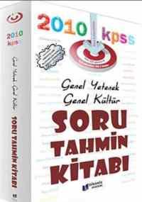 KPSS 2011 Genel Yetenek Genel Kültür Soru Tahmin Kitabı