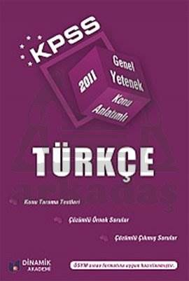 KPSS 2011 Konu anlatımlı Türkçe