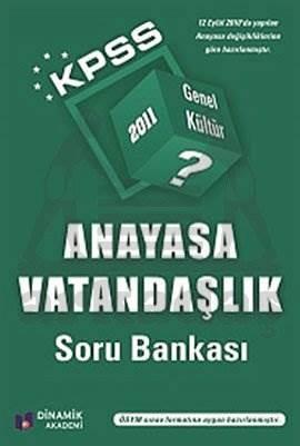 KPSS 2011 Anayasa Vatandaşlık Soru Bankası