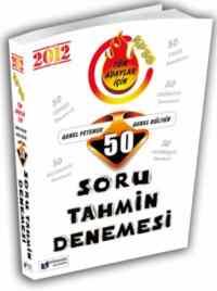 KPSS Genel Kültür Genel Yetenek 50 Soru Tahmin Denemesi