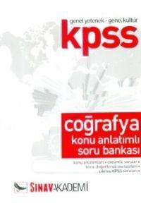 KPSS Genel Yetenek Genel Kültür Coğrafya Konu Anlatımlı Soru Bankası