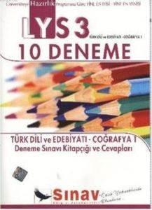 LYS 3 Türk Dili ve Edebiyatı Coğrafya-1 Deneme Sınavı