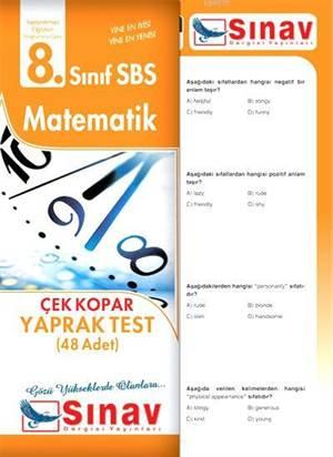 8.Sınıf Matematik Yaprak Test (48 Test)