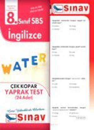 8.Sınıf İngilizce Yaprak Test (24 Test)