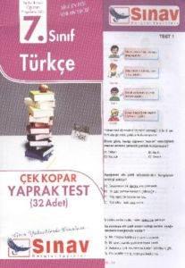 7.Sınıf Türkçe Yaprak Test