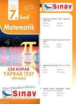7.Sınıf Matematik Yaprak Test (40 Test)