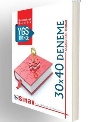YGS Türkçe 30X40 Deneme