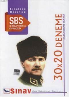 8. Sınıf T.C. İnkılap Tarihi Ve Atatürkçülük 30X20 Deneme