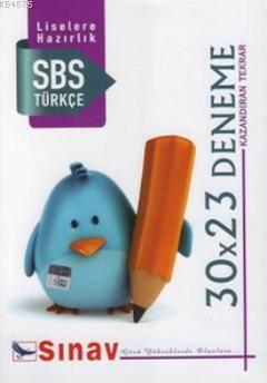 8. Sınıf Türkçe 30X23 Deneme
