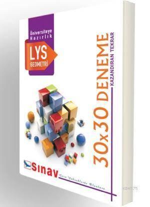 LYS Geometri 30X30 Deneme