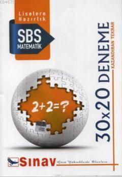 8. Sınıf Matematik 30X20 Deneme