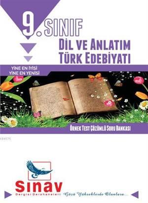 9.Sınıf Dil Ve Anlatım-Türk Edebiyatı Örnek Test Çözümlü S.B.